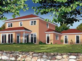 ... individuell geplant ! - Mediterrane Stadtvilla mit integrierter Garage  - www.jk-traumhaus.de