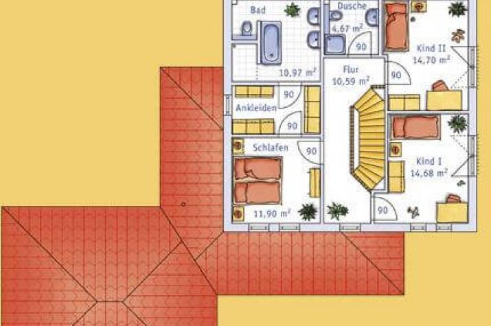 Stadtvilla mit integrierter garage  ᐅ ... individuell geplant ! - Mediterrane Stadtvilla mit ...