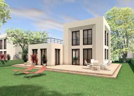 Frei planbare Häuser 5 x 5 kompakt Haus 03-01