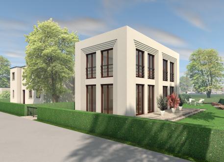 Einfamilienhaus 5 x 5 kompakt Haus 06
