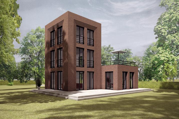5 x 5 kompakt Haus 07-01 - Gartenbild