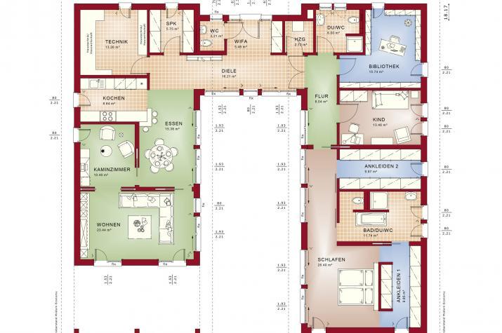 AMBIENCE 209 PD - Grundriss Erdgeschoss