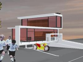 Architektenhaus - Wohnhausskulptur