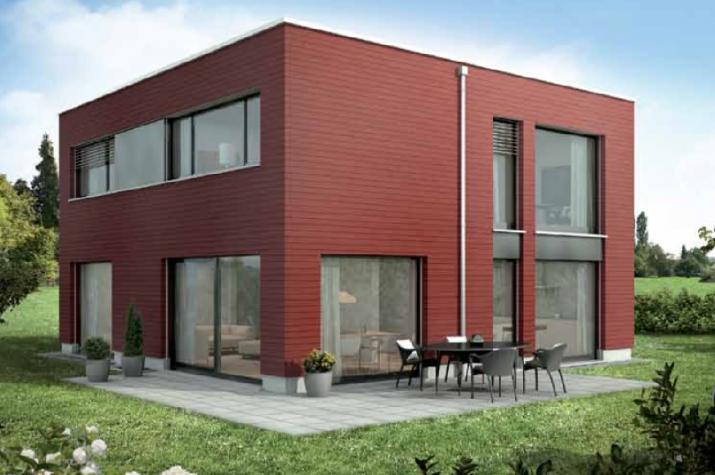 Ausbauhaus - 146 Stadtvilla -Energieklasse A+ - 95.300.-- € inkl. 19% MwSt.  - Ansicht