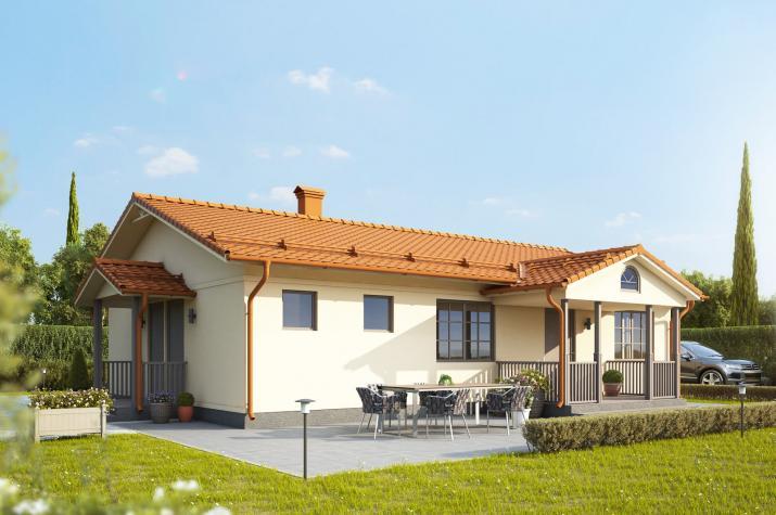 Ausbauhaus 107 - Energieklasse A+ - Kaufpreis 38.380.-- € inkl. MwSt. -