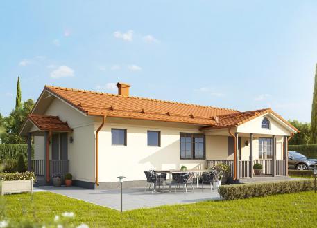 Bungalow Ausbauhaus 107 - KfW 55 - inkl. Carport -Kaufpreis 61.000.-- € inkl. MwSt.