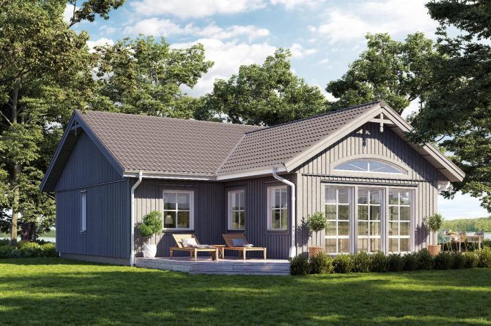 Ausbauhaus 107/3 -  Energieklasse A+ - Kaufpreis 59.685.-- €  inkl. MwSt. - - Ansicht