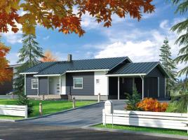 Ausbauhaus 108 mit Carport - Kaufpreis 57.280.-- € inkl. MwSt.