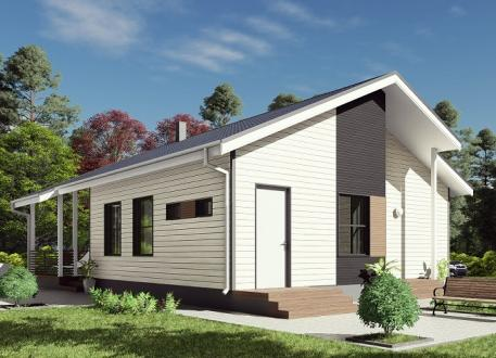 Bungalow Ausbauhaus 109 - KfW 55 - Kaufpreis 63.000.-- € inkl. MwSt.