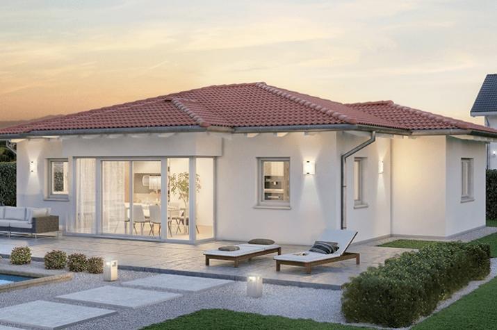 Ausbauhaus 112 - Energieklasse A+ - Kaufpreis 61.400.-- € inkl. MwSt. - Ansicht