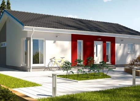 bis 75.000 € Ausbauhaus 115 - Energieklasse A+ - Kaufpreis 40.660.-- € inkl. MwSt.