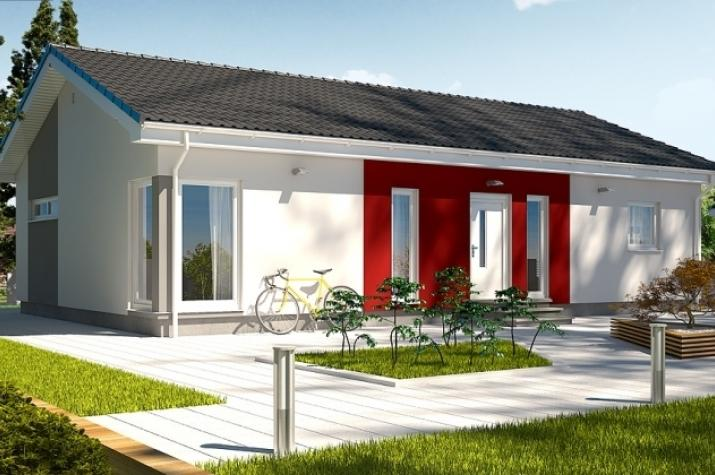 Ausbauhaus 115 - Energieklasse A+ - Kaufpreis 40.660.-- € inkl. MwSt. - Ansicht