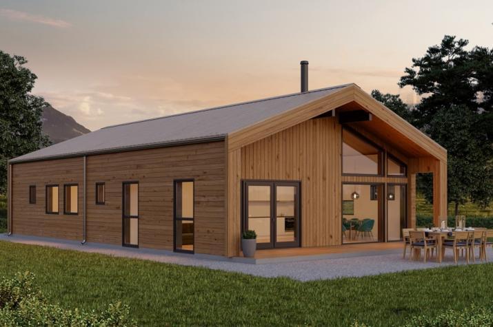 Ausbauhaus 117 - Energieklasse A+ -Kaufpreis 87.750.-- € inkl. MwSt.  - Ansicht