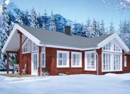Bungalow Ausbauhaus 119 - KfW 55 - Kaufpreis 77.350.-- € inkl. MwSt.