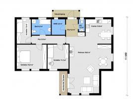 Ausbauhaus 120 - Kaufpreis 59.208.-- € inkl. MwSt.