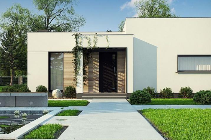 Ausbauhaus 124 -  Energieklasse A+  - Kaufpreis 43.300.-- € inkl. MwSt. - Ansicht