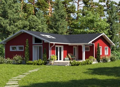 Bungalow Ausbauhaus 132 - Energieklasse A+ - Kaufpreis 47.860.-- € inkl. 19% MwSt.