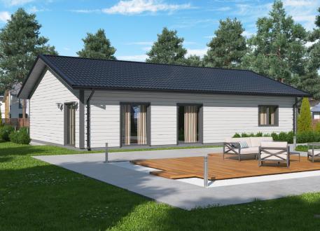 Ausbauhaus 137 - Energieklasse A+ - Kaufpreis 40.350.-- € inkl. 19% MwSt. -