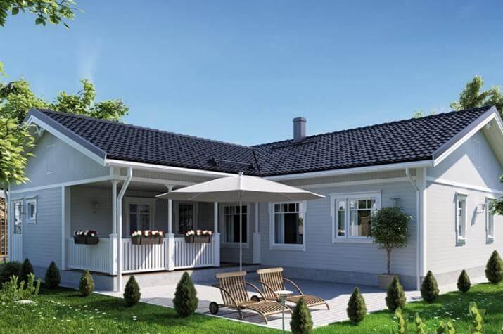 Ausbauhaus 141 - Energieklasse A+ - Kaufpreis 45.700.-- € inkl. MwSt. - Ansicht