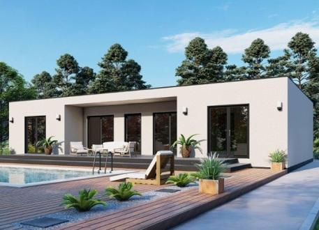 bis 100.000 € Ausbauhaus 144 - KfW 55 - Kaufpreis 75.700.-- € inkl. MwSt.