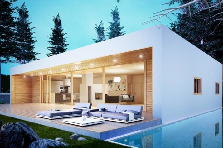 Ausbauhaus 150 - KfW 55 - Kaufpreis 69.100.-- € inkl. MwSt. - Ansicht