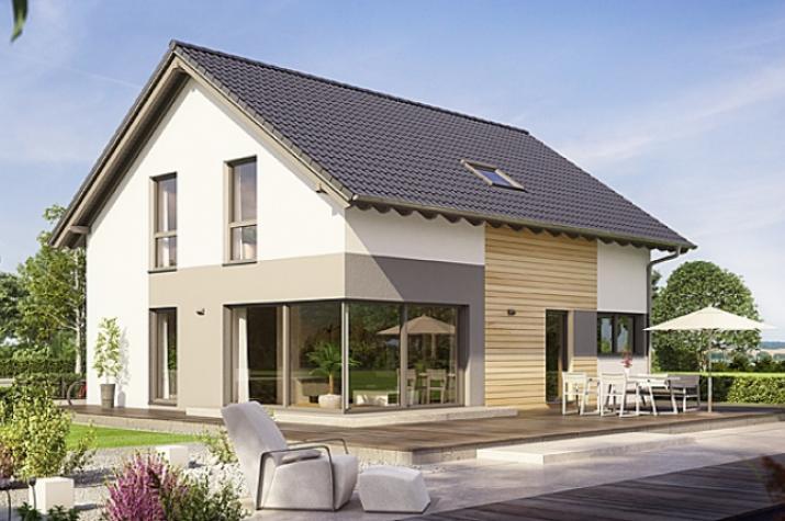 Ausbauhaus 160 -  Energieklasse A+  - Kaufpreis 70.900.-- € inkl. MwSt. - Ansicht