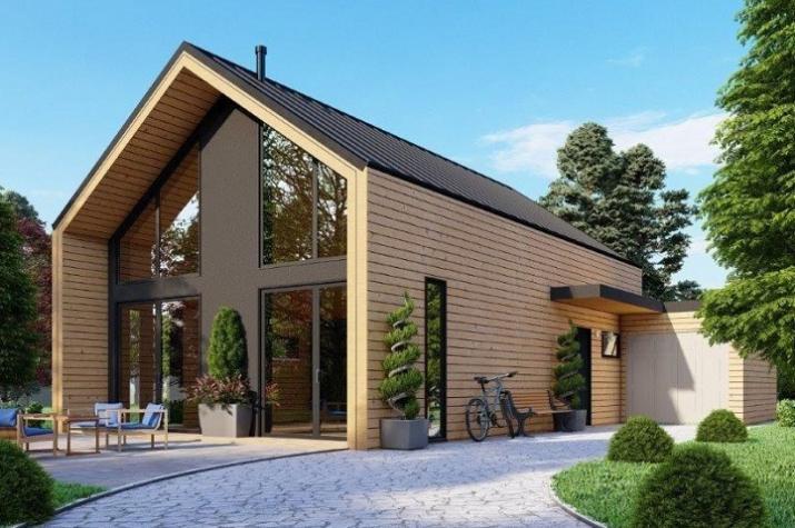 Ausbauhaus 170 - Energieklasse A+ - Kaufpreis 88.700.-- € inkl. MwSt. - Ansicht