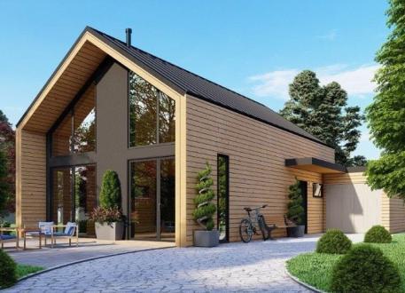bis 150.000 € Ausbauhaus 170 - KfW 55 - Kaufpreis 88.700.-- € inkl. MwSt.