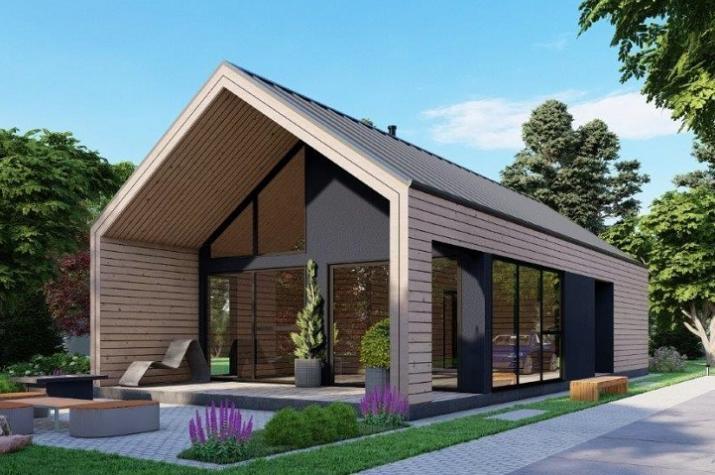 Ausbauhaus 175 - Energieklasse A+ - Kaufpreis 93.300.-- € inkl. MwSt. - Ansicht