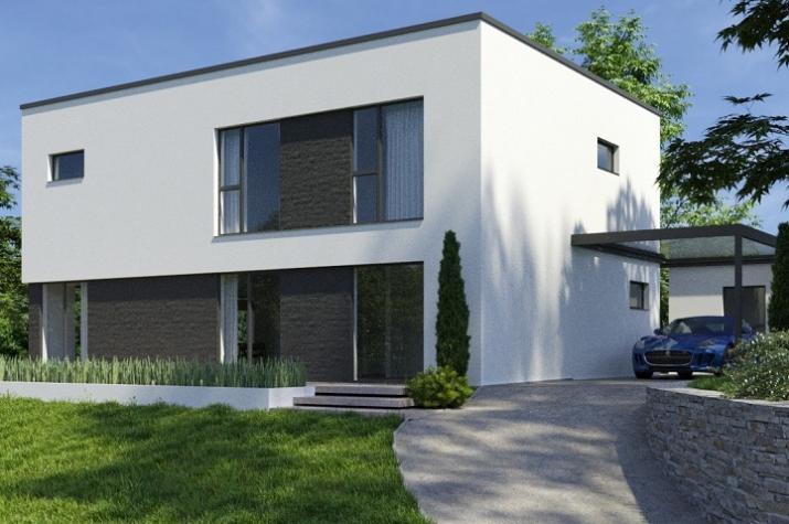 Ausbauhaus 200 - Energieklasse A+ - Kaufpreis 78.600.-- € inkl. MwSt.  - Ansicht