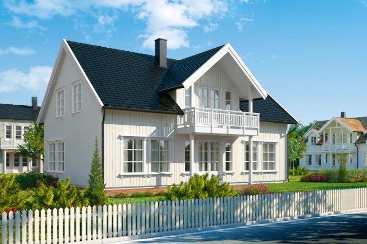 Ausbauhaus 202 - Kaufpreis 129.300.-- € inkl. MwSt. - Ansicht