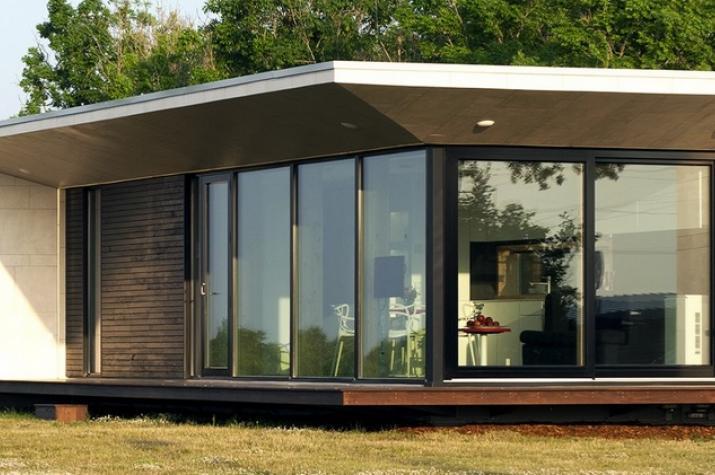 Ausbauhaus 40,0 m²  - Energieklasse A+ - Kaufpreis 34.000.-- € inkl. MwSt. - Ansicht