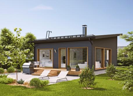 Ausbauhaus 53 - Energieklasse A+ - Kaufpreis 38.975.-- € inkl. 19% MwSt. -