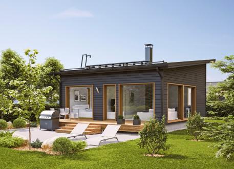 bis 75.000 € Ausbauhaus 53 - KfW 55 -Kaufpreis 50.275.-- € inkl. 19% MwSt. -