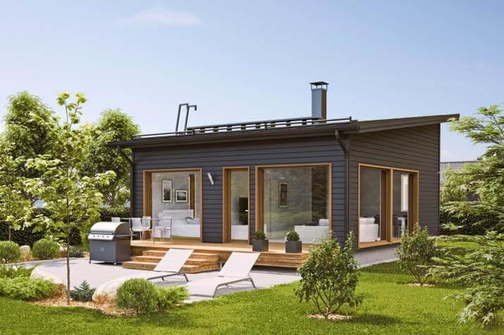 Ausbauhaus 53 - KfW 55 -Kaufpreis 50.275.-- € inkl. 19% MwSt. - - Ansicht