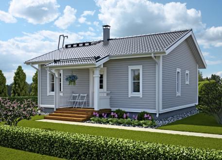 Bungalow Ausbauhaus 67 - KfW 55 - Kaufpreis 61.950.-- € inkl. MwSt.