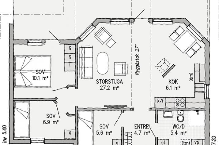 Ausbauhaus 70 - Energieklasse A+ - Kaufpreis 55.900.-- € inkl. 19% MwSt.  -