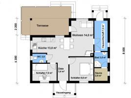 Ausbauhaus 87 - Kaufpreis 43.100.-- € inkl. MwSt.