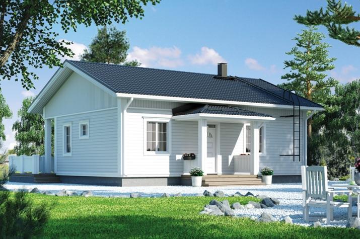Ausbauhaus 87 - Kaufpreis 43.100.-- € inkl. MwSt. - Ansicht 1