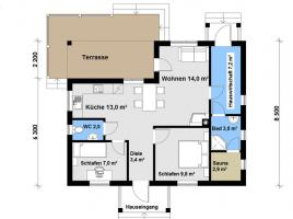 Ausbauhaus 87 - Kaufpreis 45.600.-- € inkl. MwSt.