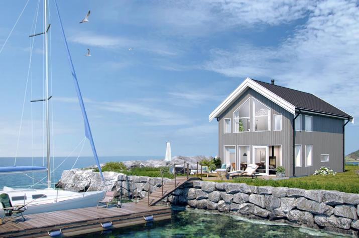 Ausbauhaus 92 - Energieklasse A+ - Kaufpreis 69.000.-- € inkl. MwSt. - Ansicht