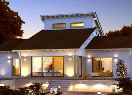 einfamilienhaus bauen 905 einfamilienh user mit grundrissen u preisen. Black Bedroom Furniture Sets. Home Design Ideas