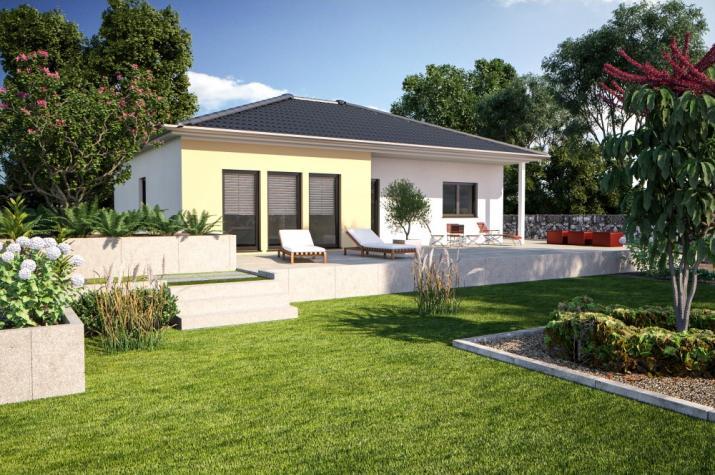 Bärenhaus Bungalow One 107 - One 107 Garten