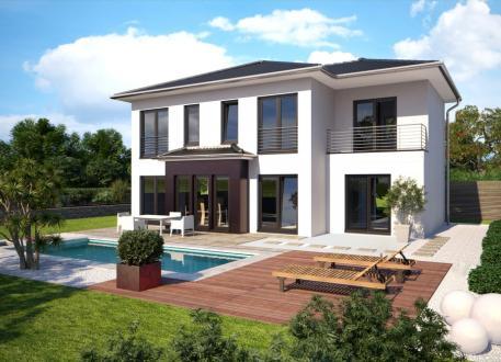 Fertighaus villa mit pool  ᐅ Villa o. Luxushaus bauen | Luxushäuser ab 200.000 €