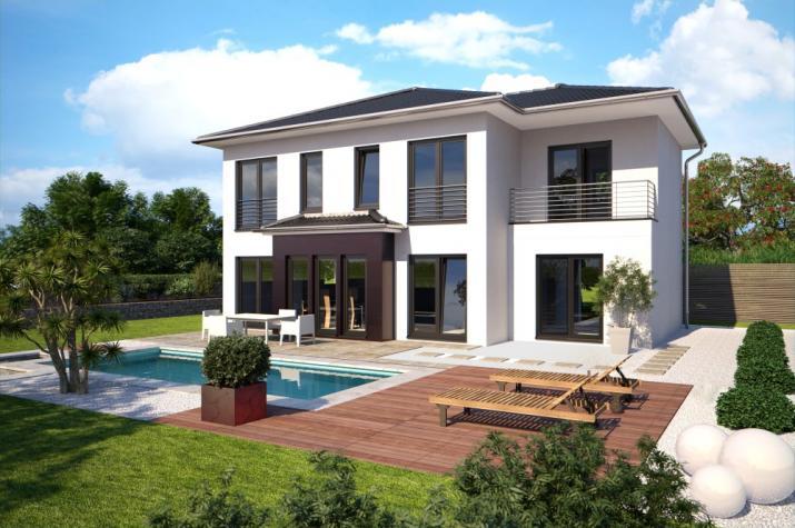b renhaus einfamilienhaus eos 161. Black Bedroom Furniture Sets. Home Design Ideas