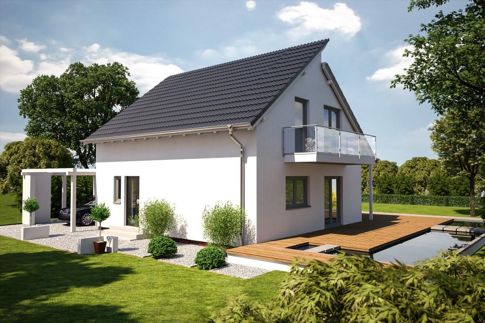 B renhaus einfamilienhaus esprit 125 b renhaus for Esprit haus erfurt