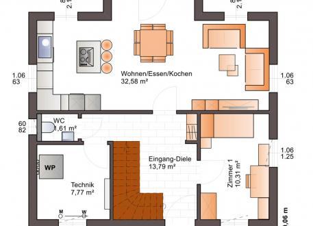 bis 250.000 € Bärenhaus Einfamilienhaus Esprit 127