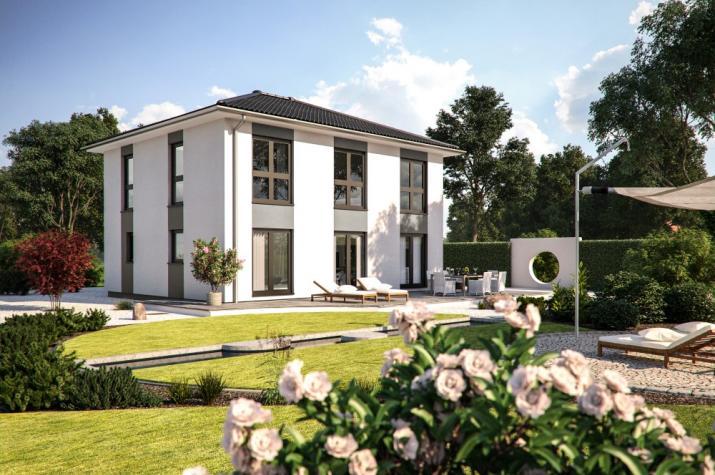 Bärenhaus Stadtvilla Eos 154 - Eos 154 Garten