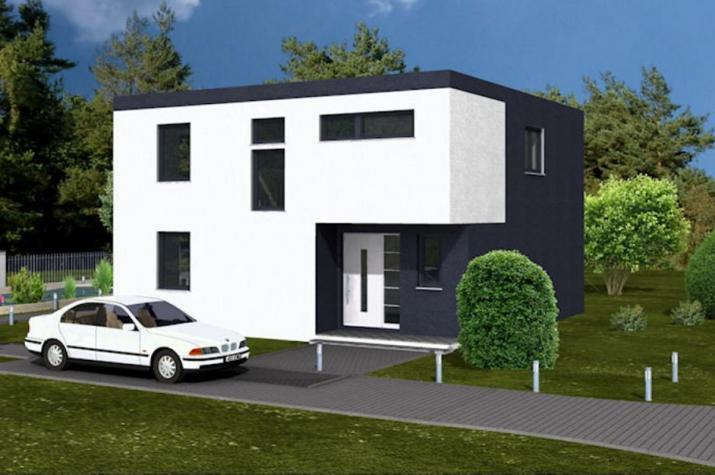 Bauhaus 154   Straßenansicht