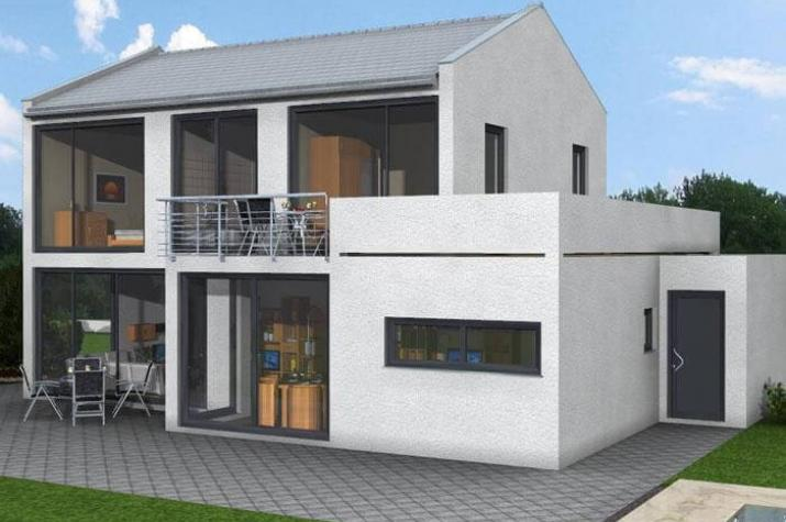 Bauhaus 179 hauswerk gmbh for Bauhaus einfamilienhaus grundriss